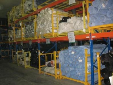 家纺用货架仓库管理