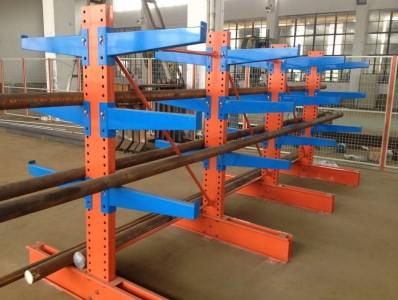 悬臂式货架适用于存放长型物料